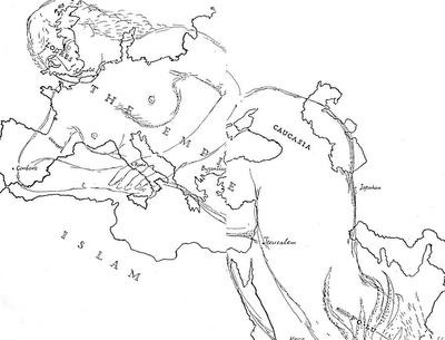 Lynton Lamb's map