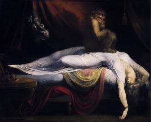 "John Henry Fuseli ""The Nightmare"""