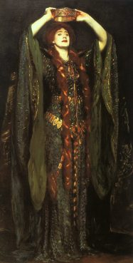 John Singer Sargent 'Ellen Terry as Lady Macbeth', 1889