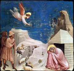 second shepherds giotto
